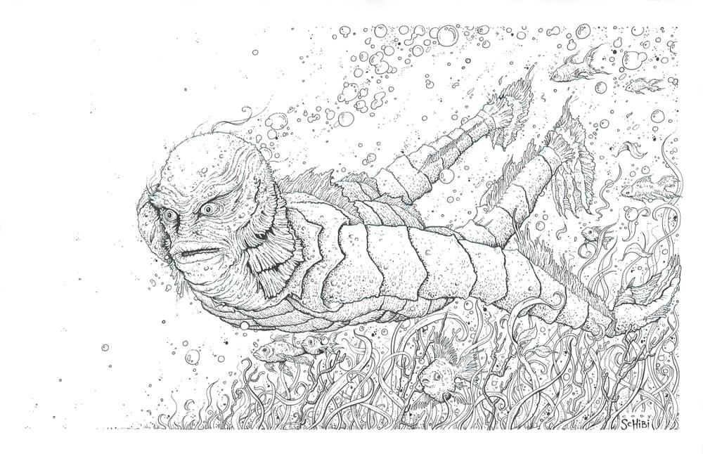 'The Creature' print