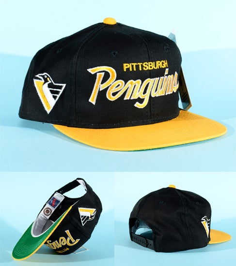 a1fb90e58c7 Image of RARE Vintage Pittsburgh Penguins Sports Specialties snapback BNWT