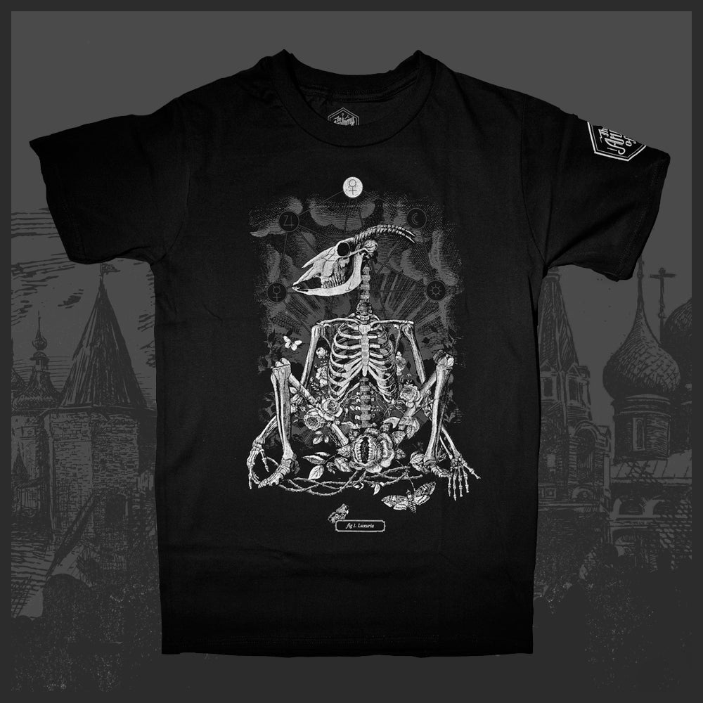 9e25a0d05 Image of Anatomy of Sin: 1. Luxuria T-Shirt. The goat ...