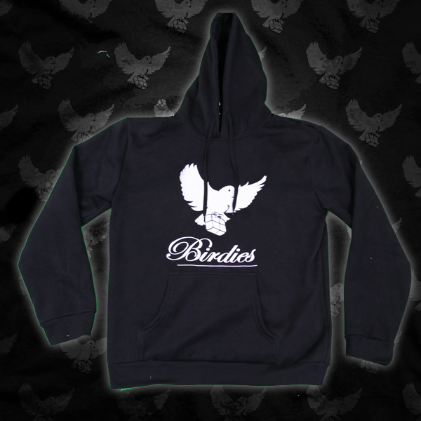 Image of Black/White Birdies OG Hoodie