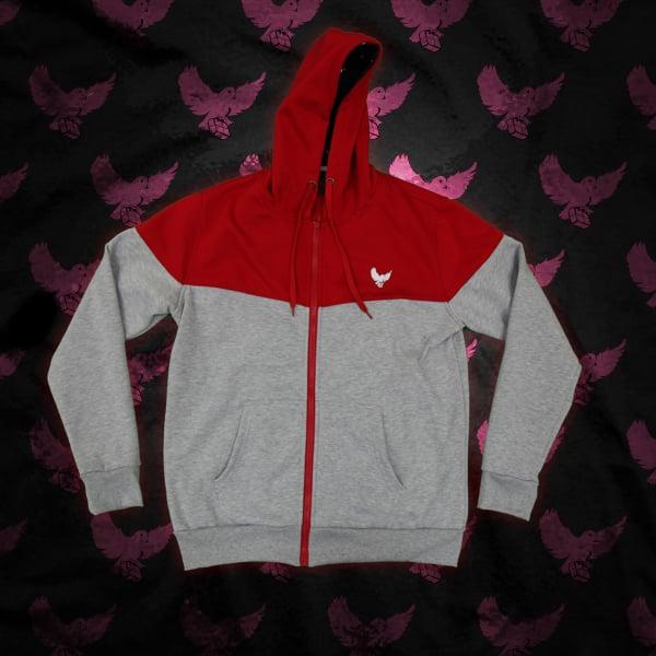 Image of Grey/Red Birdies Sweatsuit