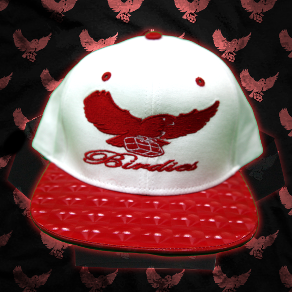 Image of White/Red LTD Birdies Snapback