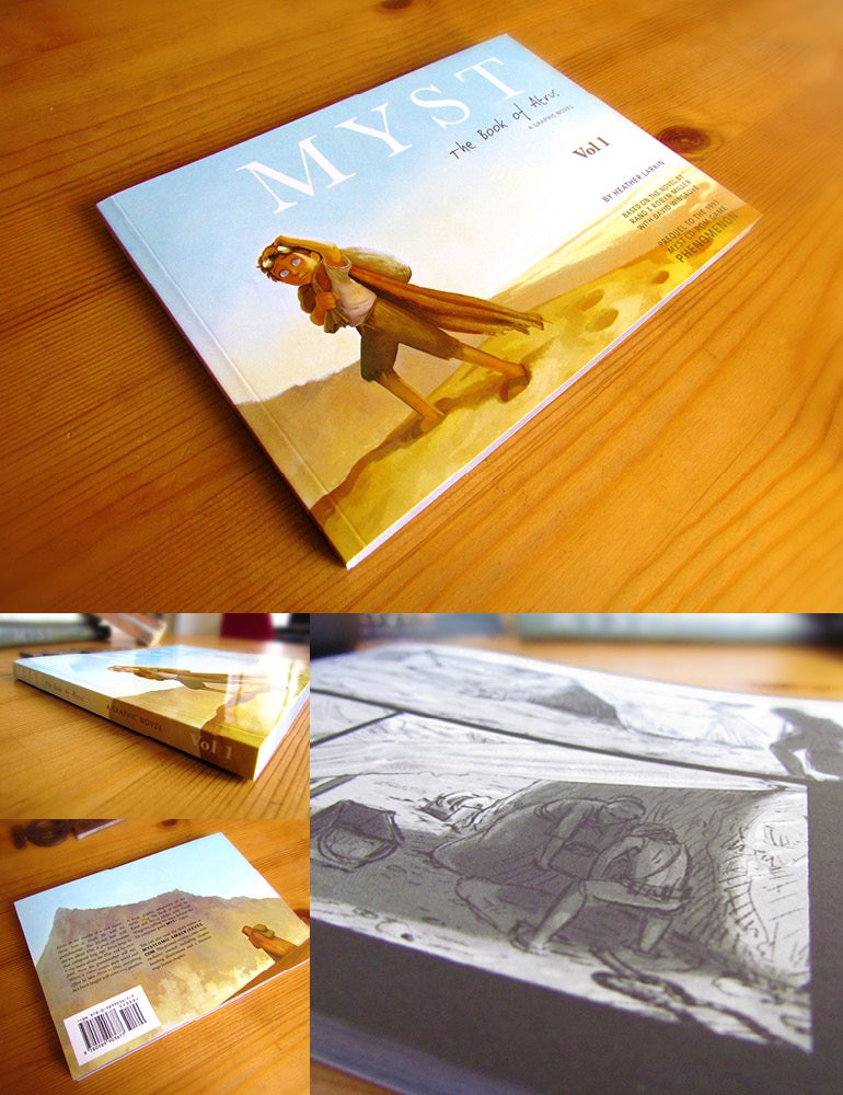 Image of Myst The Book of Atrus - A Graphic Novel (Vol 1)