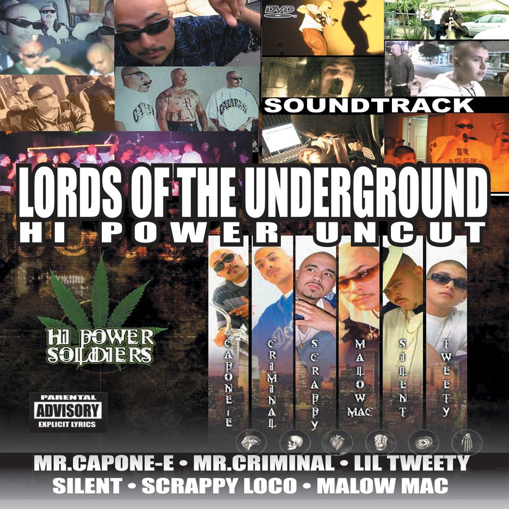 "Image of Lords Of The Underground ""Hi-Power Uncut"""