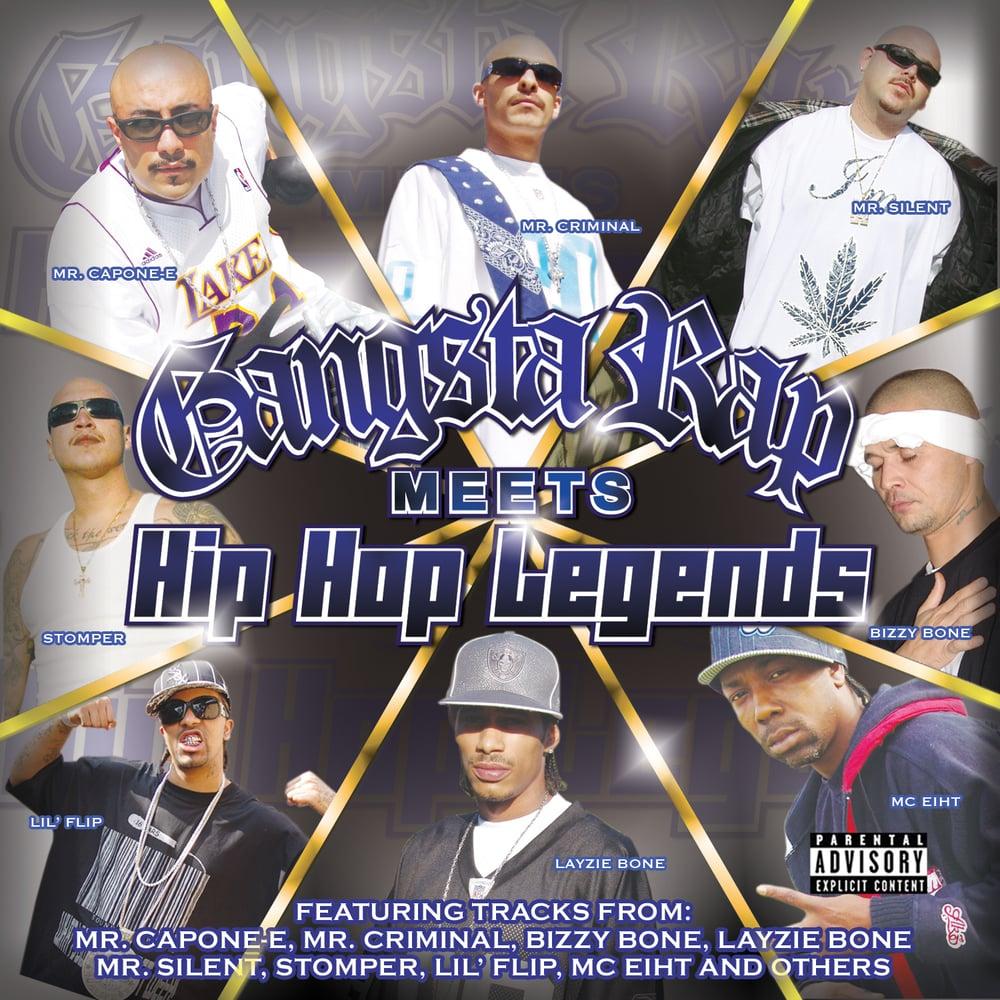 Image of Gangsta Rap Meets Hip-Hop Legends