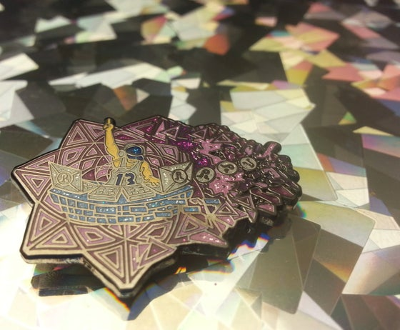 Image of Pretty Lights Fade Out Pin