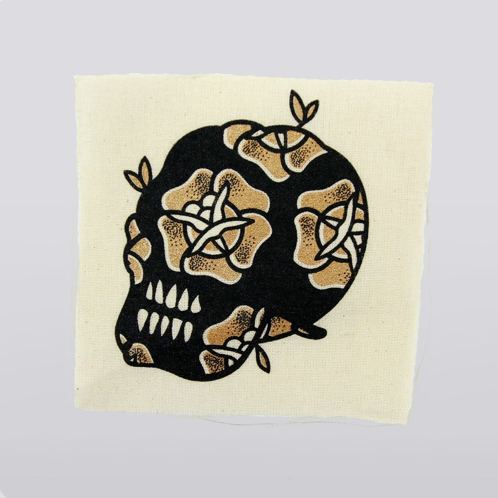 Image of Canvas Skull Patch