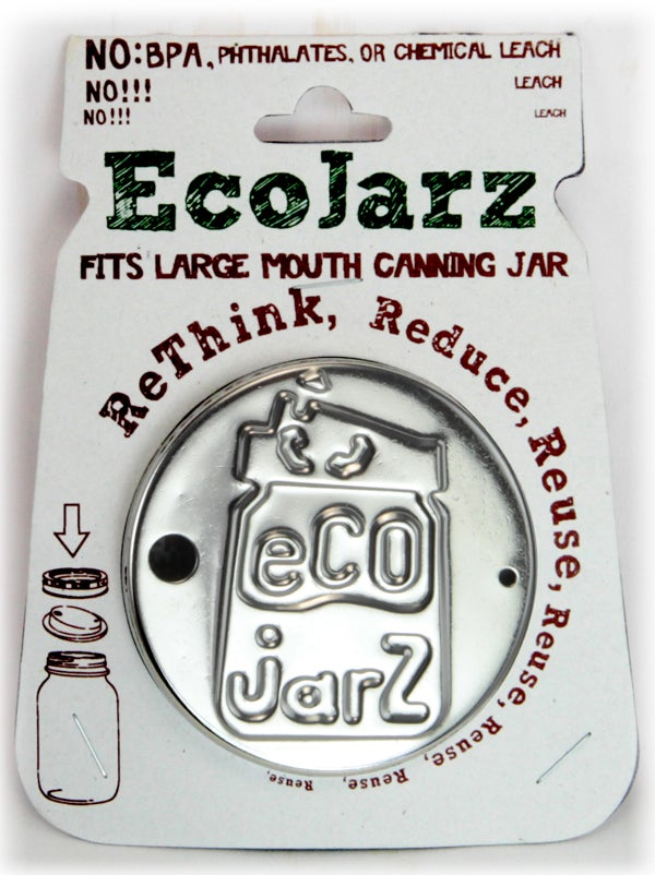 Image of Wide Mouth Stainless Steel Ecojarz Lid