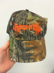 Image of white trash cap