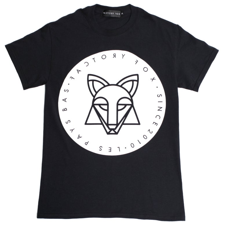 Image of #FACTORYFOX UNISEX BLACK T