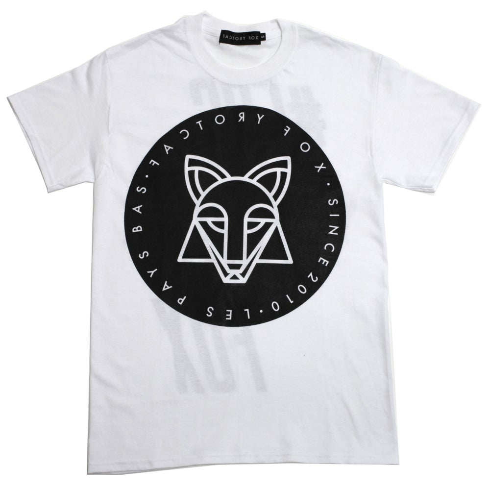 Image of #FACTORYFOX UNISEX WHITE T