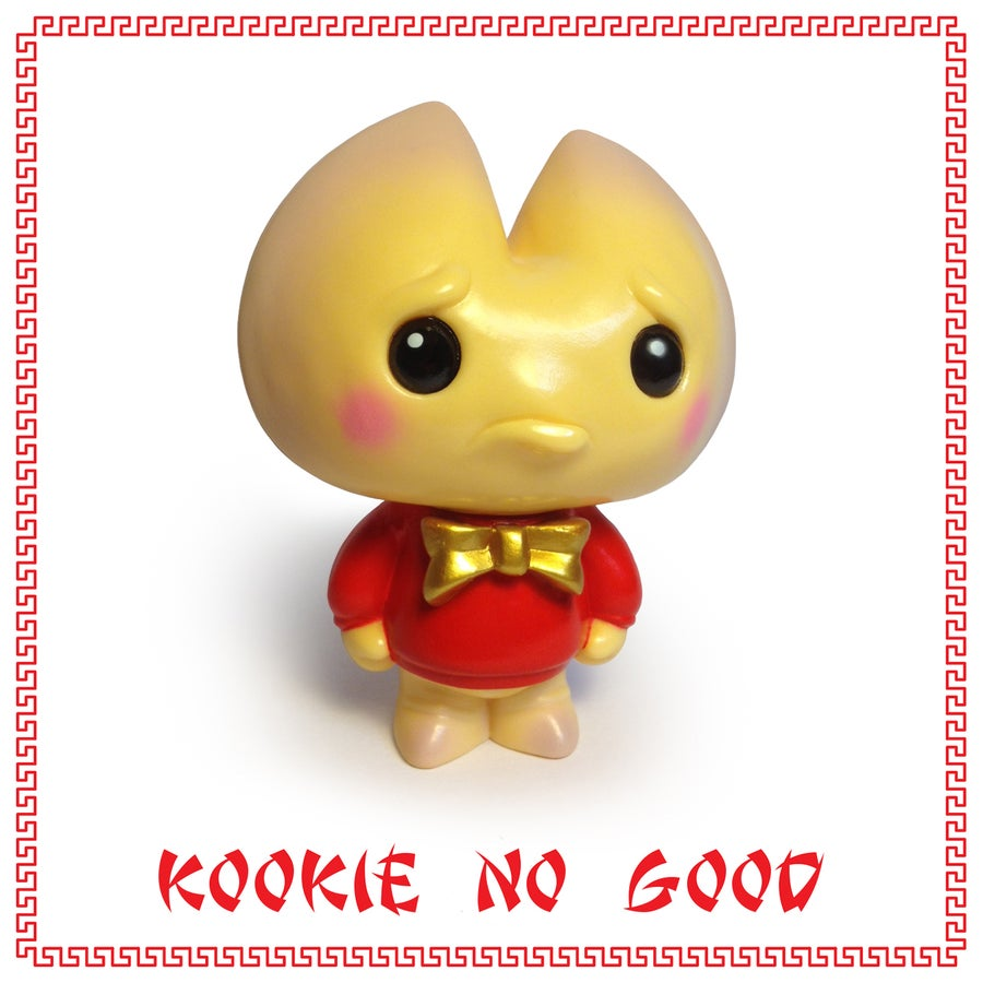 Image of Kookie No Good sofubi figure - Chinese New year Edition - Scott Tolleson - De Korner Exclusive