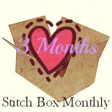 Image of Three Months of Stitch Boxes