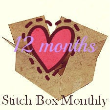 Image of Twelve Months of Stitch Boxes