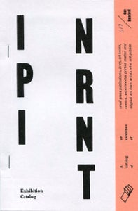 Image of In Print Exhibition Catalog