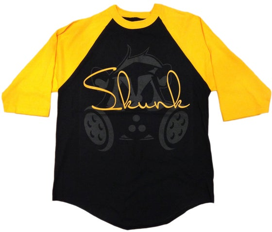 Image of Signature Raglan | Black/Gold