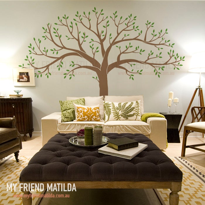 NEW Large Family Tree Wall Decal Sticker