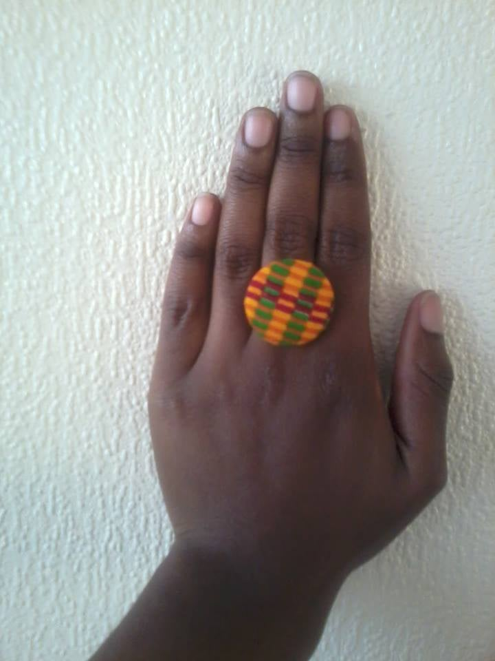 Image of Vekras Kente Ring