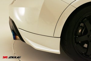 Image of Zele Performance Rear Under Spoiler Set BRZ