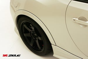 Image of Zele Performance Over Fender Trim Front and Rear BRZ