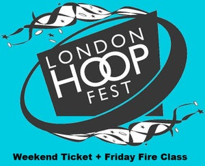 Image of Click for Weekend Ticket & Friday Fire Workshop