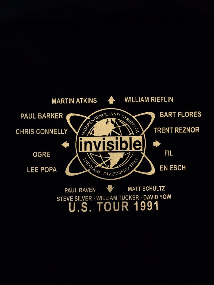 Image of Pigface GUB tour shirt