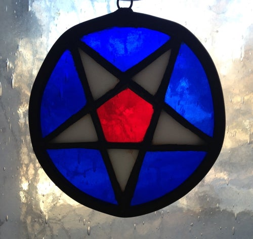 Image of Nauvoo Star-stained glass