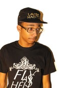 Image of Black Lavish Habits 5 Panel Hat