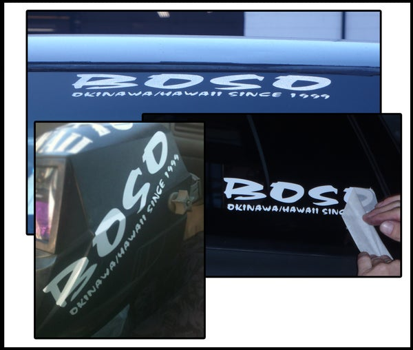 Image of OG BOSO Decal