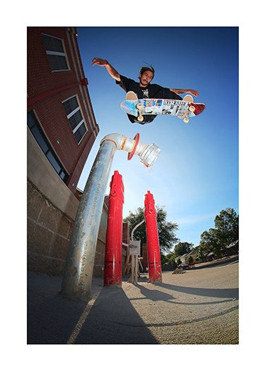 Image of Chris Cardenas - Backside 180 Print