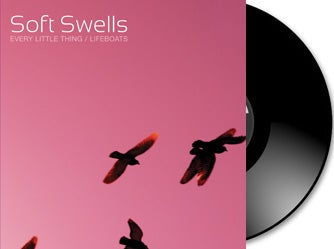 """Image of Soft Swells - """"Every Little Thing""""/""""Lifeboats"""" 7"""" + Download Card"""