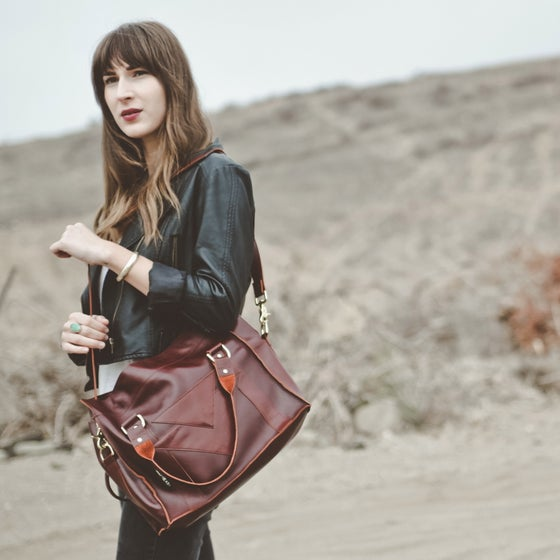 Image of OX BLOOD SATCHEL