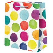 Image of Patterned Paper Gift Bags - Assorted Styles
