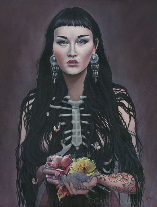 Image of Threnody - Embellished Limited Edition Canvas Print