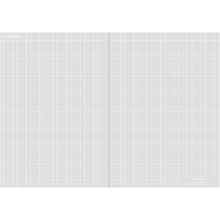 Image of Whitelines - Lab - 16 Column Grid Paper