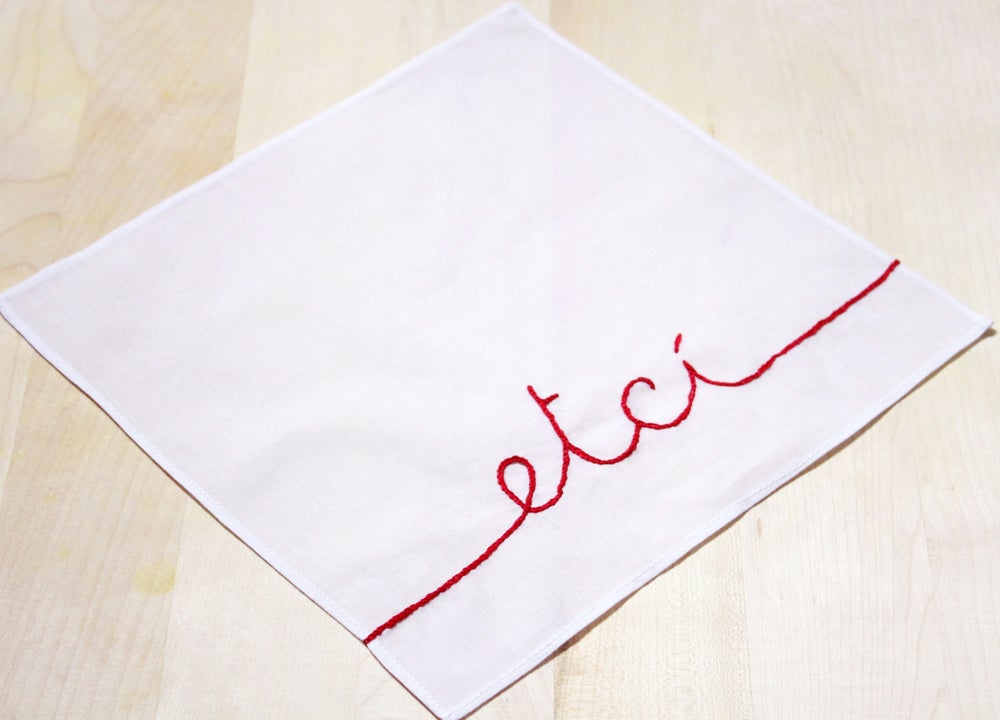 Image of etcì - handkerchief