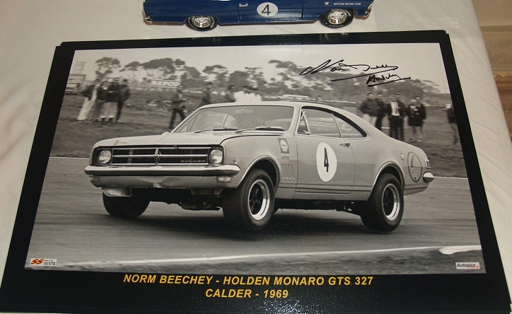 Image of BEECHEY'S HK MONARO - AUTOGRAPHED PHOTO