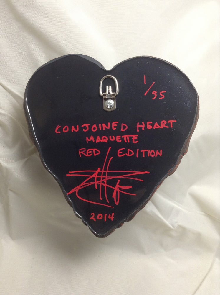 Conjoined Heart Maquette- Red Edition