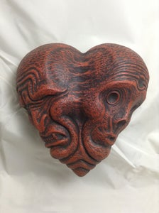 Image of Conjoined Heart Maquette- Red Edition