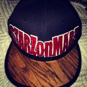 "Image of DISKO STARZonMARZ WOODWORKS ""WOOD"" SNAPBACK"