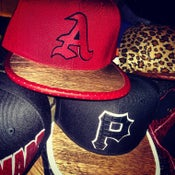 """Image of DISKO STARZonMARZ WOODWORKS """"A-WOOD"""" SNAPBACK"""