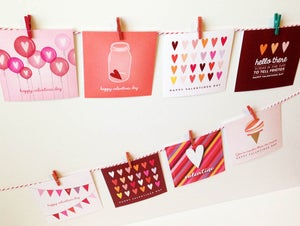 Image of Valentines Day Card DIGITAL DOWNLOAD