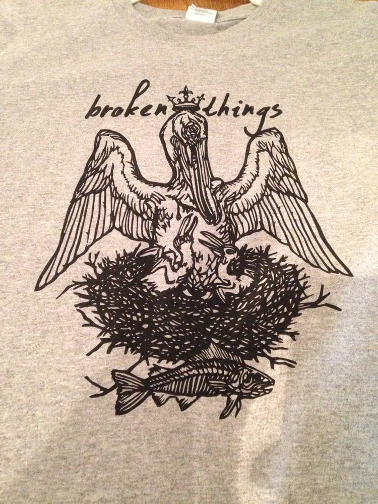 "Image of Broken Things ""Pelican"" Shirt"