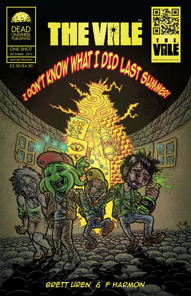 Image of The Vale One-Shot special 'I don't know what I did last summer!'