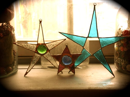 Image of Big Star-stained glass