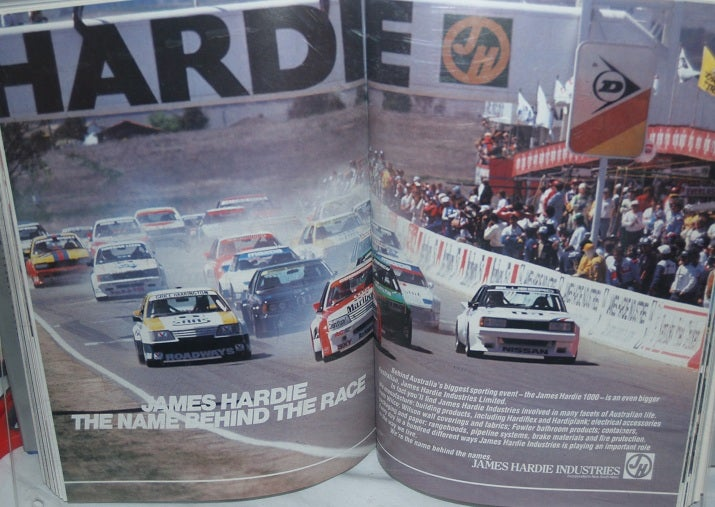 Image of Bathurst 1984. Peter Brock's 3rd win in a row.
