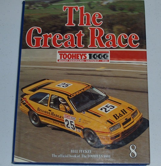 Image of BATHURST GREAT RACE BOOK 1988. LONGHURST/MEZERA WIN IN SIERRA