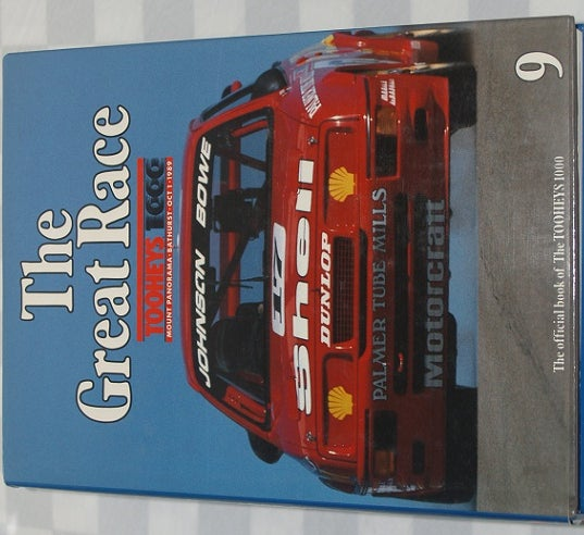 Image of BATHURST GREAT RACE BOOK # 9. JOHNSON & BOWE WIN IN FORD SIERRA.