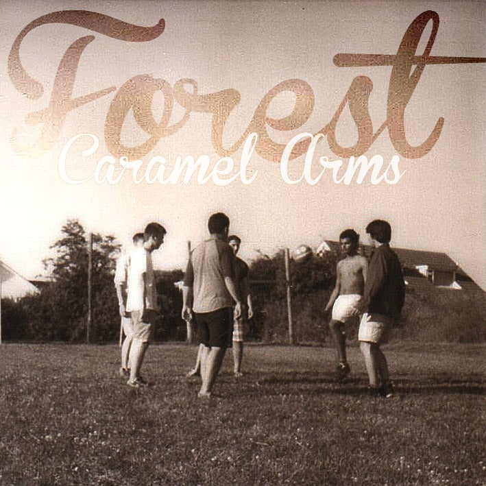 "Image of FOREST CARAMEL ARMS EP 10"" CREAM VINYL"