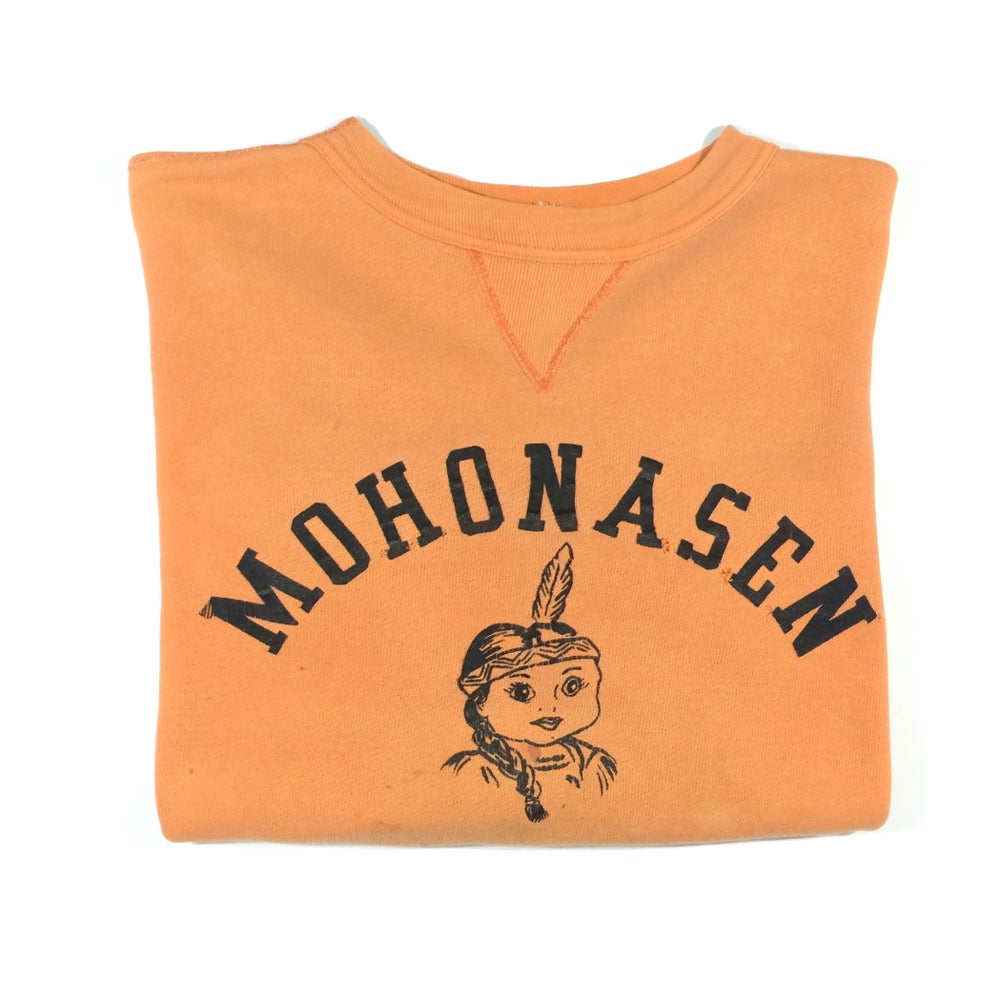 Image of mohonasen indian print single V sweatshirt